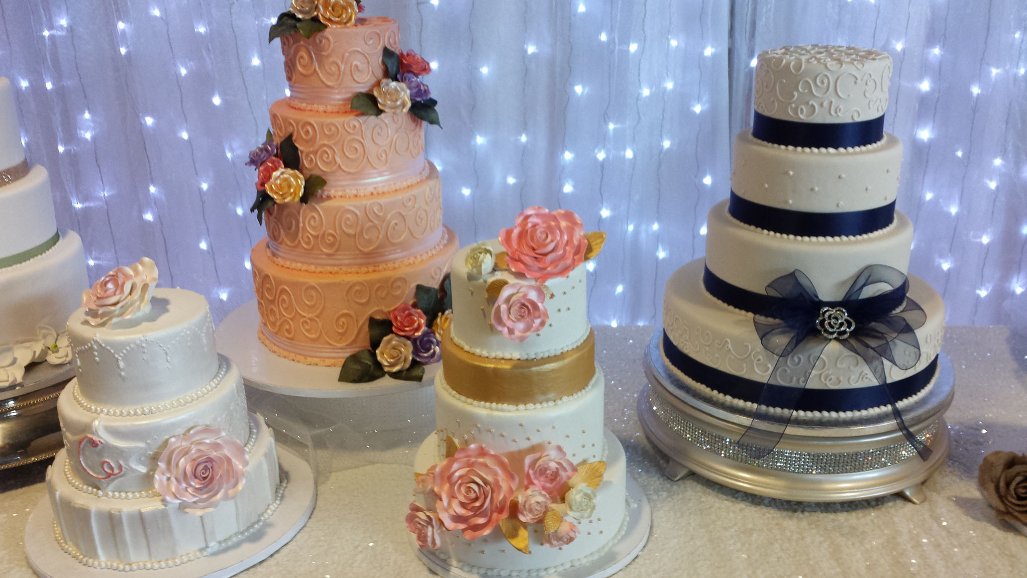 Dorothy Lane Wedding Cake